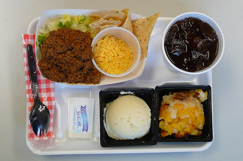 Boo Cafeteria Lunch