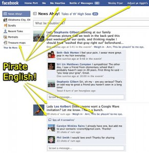 Pirate Facebook