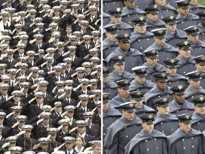 Army vs. Navy Students