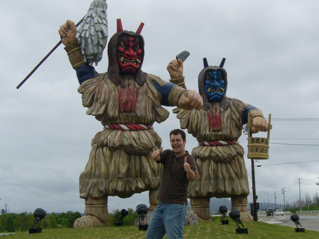Study Abroad in Japan, Oga Penninsula, Namahage Demons
